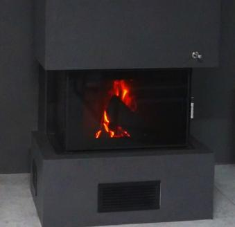 Tinted Night View glass, extra payment when buying a fireplace