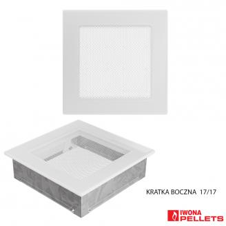 Air recirculation grid (Model 170x170 white frame, fine mesh cover)